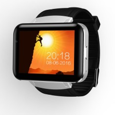 Smart Watch 2.2 Inch IPS HD MTK6572 Dual Core 1.2 GHz 512 MB RAM + 4 GB ROM Android OS 3g WCDMA GPS WIFI Kamera 900 MAh Baterai Smartwatch Ponsel-Intl
