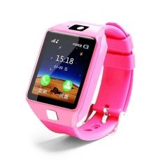 Smart Watch DZ09 Mendukung SIM TF Kartu untuk Android IOS Ponsel Anak-anak Camera Women