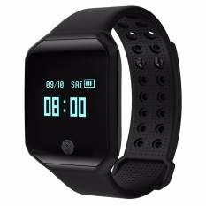 Smart Watch Heart Rate Blood Pressure Pulse Monitor Fitness Tracker IP67 Waterproof Sport Smart Wristband Bracelet Z66 Men Women for Android iOS - intl