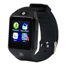 Jam Tangan Ponsel Pintar DZ09S Mendukung Kartu SIM Olahraga And Sehat Mengingatkan For IOS And Android handphone Terkini Dz09 (hitam)