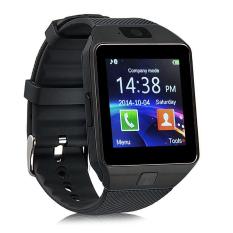 Jam Tangan Pintar DZ09 Bluetooth Jam Gelang Pintar Banyak Cermin And IOS (hitam)
