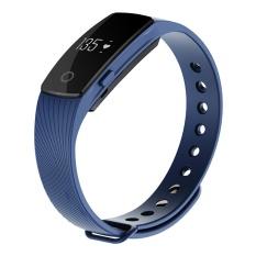 Smart Gelang ID 107 ID107 Watch Heart Rate Monitor RemoteBluetooth Smart Band Gelang Pedometer Kebugaran SmartBand ReminderBl-Intl