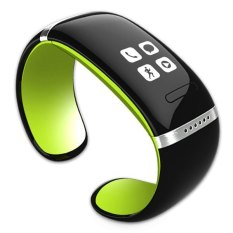 Katalog Smart Wristband L12S Oled Bluetooth Bracelet Wrist Watch Design For Ios Android Phones Wearable Electronic Green Intl Terbaru