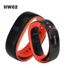 Harga Hemat Lenovo Hw02 Smartband Tahan Air Ip67 Bluetooth 4 Monitor Detak Jantung Pedometer Smart Gelang Untuk Androis Ios Soft Band Intl