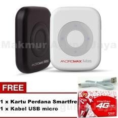 Smartfren Andromax M3S Mifi / Modem Wifi 4GLite - Warna Random + Free Kabel USB + Kartu Perdana Smartfren