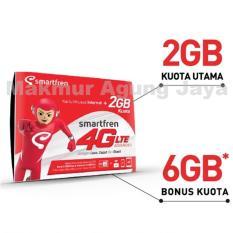 Smartfren GSM Kartu Perdana 4G  Kuota 2 GB