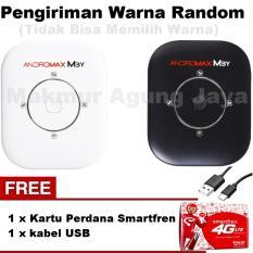 Smartfren Modem MiFi Andromax M3Y 4GLITE + Free Kartu perdana Smartfren Gsm + Free Kabel USB -warna random