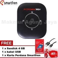 Spesifikasi Smartfren Modem Mifi Andromax M3Y Black Hitam Free Kabel Usb Free Kartu Perdana Smartfren Free Sandisk 4Gb Yg Baik