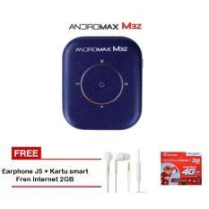 Jual Smartfren Modem Mifi Andromax M3Z 4G Lte Kuota 30 Gb Biru Bonus Data 19Gb Bonus Langsung Kartu Smartfren Internet 2Gb Dan Earphone J5 Smartfren Grosir