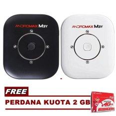 Smartfren Modem Wifi Mobile MiFi Andromax M3Y + Free Kuota 2 GB