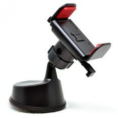 Smartphone Car Holder Mobil Rotasi 360 Derajat - Black