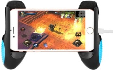 Beli Smartphone Game Clutch Game Handle Adjustable Game Holder Stand Universal Grip Untuk 4 5 6 5 Inch Ponsel Warna Hitam Tiongkok