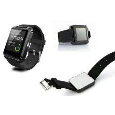 Smartwatch U8 Android App |  Jam Tangan Awet Murah Rubber Strap - Warna Hitam  | Dream