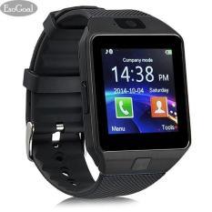 Smartwatch U9 DZ09 - Hitam - Strap Karet