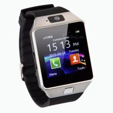 SMARTWATCH U9 DZ09 Jam Tangan SIM Card Bluetooth Limited Edition -Silver