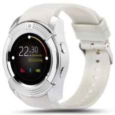 Beli Smartwatch V8 Water Resistant For Android Ios Smart Watch V8 Support Camera Support Sim Card Sd Card Putih Cicil
