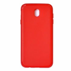 Smile Cross Softcase Iphone 8 - Merah