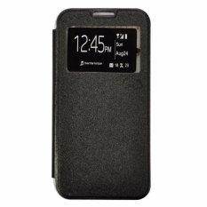 Smile Flip Cover Case Oppo Neo K R831K - Hitam
