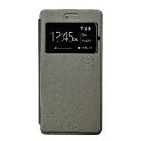 Promo Smile Flip Cover Case Samsung Galaxy S8 Abu Abu