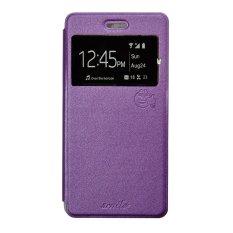 Promo Smile Flip Cover Case Untuk Xiaomi Redmi Note Ungu Murah