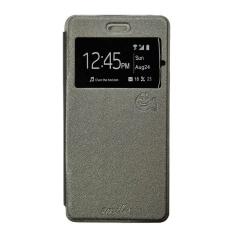 Smile Flip Cover Case Xiaomi 5s - Abu-abu