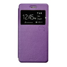 Smile Flip Cover oppo F1 Plus R9 - Ungu