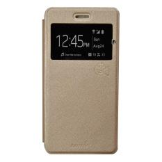 Smile Flip Cover Samsung Galaxy J2 Prime - Gold