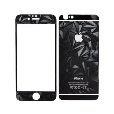 Smile Tempered Glass Iphone 6 4.7 inch 3D 2in1 – Hitam