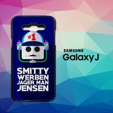 Smitty Werbenjagerman Z5669 Casing Custom Hardcase Samsung Galaxy J1 Ace) Case Cover