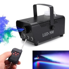 Kabut Asap Mesin LED Light Party Disco DJ Tahap Efek dengan Controller-Intl