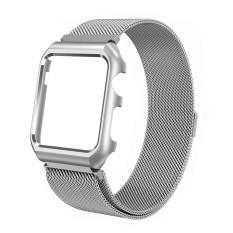 Sobuy 38 Mm/42 Mm untuk Apple Jam Tangan, milanese Putaran Anti Karat Penggantian IWatch Tali Tali Jam Tangan untuk Apple Jam Tangan