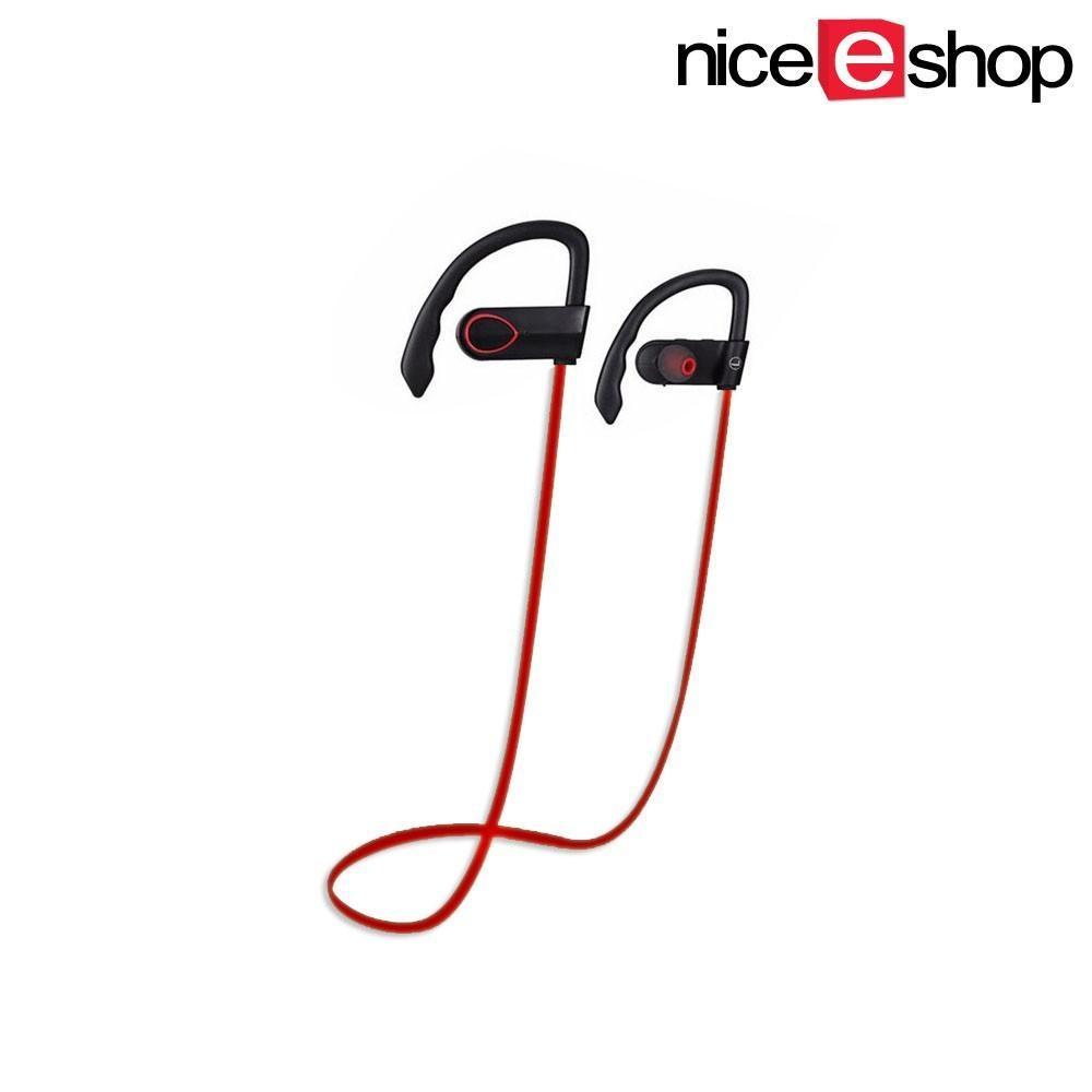SOBUY Bluetooth Headset, Nirkabel Stereo V4.1 Bluetooth Di Telinga Earpiece Earbud Headphone Earphone