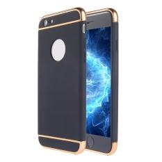 SOBUY Kobwa IPhone 6 S/6 Kasus, 3 In 1 Ultra Tipis Hard Anti-Gores Tahan Guncangan Menyepuh Dgn Listrik Frame dengan Permukaan Permukaan Kasus Grip Yang Bagus untuk Apple IPhone 6 S/6-Intl