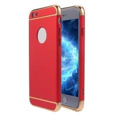 SOBUY Kobwa IPhone 6 S/6 Plus Case, 3 In 1 Ultra Tipis Hard Anti-Gores Tahan Guncangan Menyepuh Dgn Listrik Frame dengan Permukaan Permukaan Kasus Grip Yang Bagus untuk Apple IPhone 6 S/6 Plus-Intl