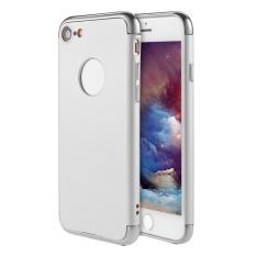 SOBUY Kobwa IPhone 7 Case, 3 In 1 Ultra Tipis Hard Anti-Gores Tahan Guncangan Menyepuh Dgn Listrik Frame dengan Permukaan Permukaan Kasus Grip Yang Bagus untuk Apple IPhone 7-Intl