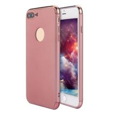 SOBUY Kobwa IPhone 7 Plus Case, 3 In 1 Ultra Tipis Hard Anti-Gores Tahan Guncangan Menyepuh Dgn Listrik Frame dengan Permukaan Permukaan Kasus Grip Yang Bagus untuk Apple IPhone 7 Plus-Intl