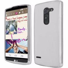 Soft Case Matte TPU Gel Silicone LG G3 Stylus - Clear