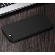 Soft Case Ultraslim Hybrid Case Baby Soft Babby Skin Softase Silicon Matte for Apple iPhone 5 / 5s - Black