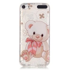 Soft IMD TPU Shell Case for iPod Touch 6 / Touch 5 - Cute Bear - intl