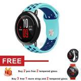 Spesifikasi Silicone Band Strap Untuk Huami Amazfit Smart Watch Intl Murah Berkualitas