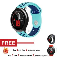 Ulasan Mengenai Silicone Band Strap Untuk Huami Amazfit Smart Watch Intl