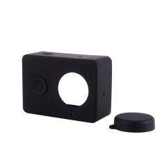 Lembut Silicone Camera Bag Cover Protector untuk Xiaomi untuk Yi Olahraga & Action Kamera Digital Tas Case Aksesoris-Intl