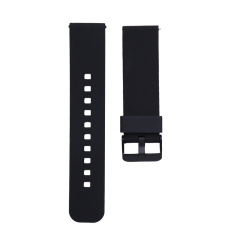 Soft Silicone Replacement Sport Watch Wrist Band Strap untuk Cookoo2 Watch (Hitam)-Intl