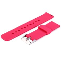 Soft Silicone Replacement Sport Watch Wrist Band Strap untuk Cookoo2 Watch Pebble Waktu LG MOTO360 dan Sebagainya-Internasional