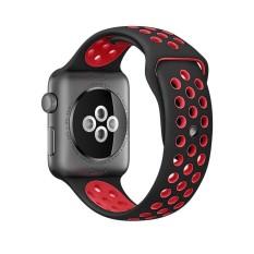 Lembut Silikon Penggantian Jam Tangan Tali Tali Bagian Manset Lengan Kemeja 42 Mm untuk Apple Edition IWatch Nike + Olahraga Jam Tangan Tali Seri 1 dan Seri 2-M