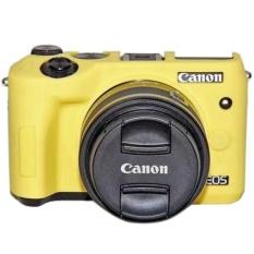 Lembut Silicone Karet Camera Case untuk Canon EOS M6-Intl