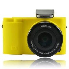 Lembut Silicone Karet Penutup Pelindung Kamera Tas Kasus Kulit untuk Samsung NX3000 20-50mm-Intl