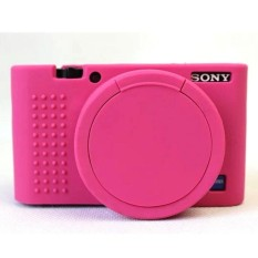 Soft Silicone Rubber Protective Camera Body Cover Case for SonyRX100M5 RX100M4 RX100M3 with Bottom opening Camera Lens Cap &nbsp - intl