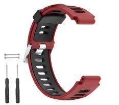 Soft Sport Silikon Tali Jam untuk Forerunner 735XT/220/230/235/620/630- INTL