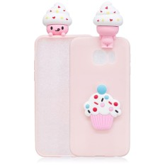 Soft TPU 3D Lucu Kartun Slime Toy Doll Phone Back Case Cover untuk Samsung Galaxy S6 Edge G9250-Intl